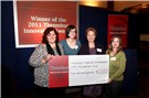 The team from University Hospital Southampton NHS Foundation Trust receive their prize for first place